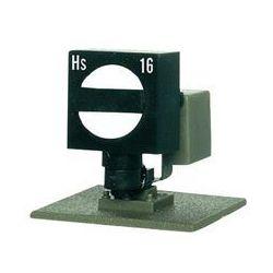 Sygnalizator blokady torów Viessmann 4516, 15 mm, kolej DB, dioda LED, skala H0, epoka I