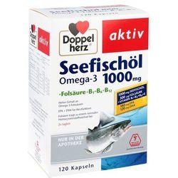 Doppelherz Aktiv Omega 3 1000mg + kwas foliowy + wit. 120 szt.