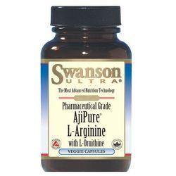 Swanson AjiPure L-Arginina + L-Ornityna 90 kaps.