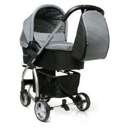 4Baby Atomic wózek dziecięcy wielofunkcyjny 2 w 1 + gondola Grey