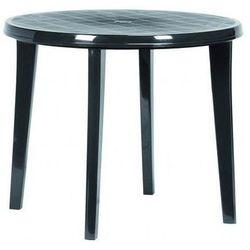 Stół plastikowy LISA 90 cm antracyt