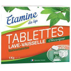 EDL tabletki do zmywarki bezzapachowe 50 szt