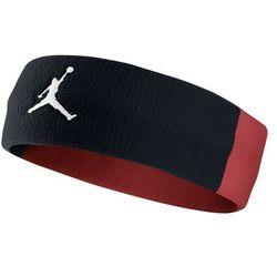 Opaska na głowę Jordan headband czarno-czerwona - 619337-010 - czarno - czerwona 35bt (-0%)