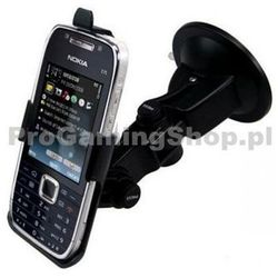 Haicom elastyczne ramię ssące kubek + szkło + uchwyt do telefonu Nokia E75
