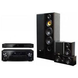 Kino domowe PIONEER VSX-830-K + BDP-180-K + Taga Harmony TAV-606 Czarny