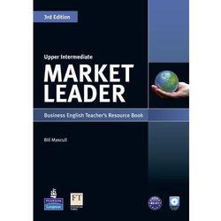Market Leader Upper Intermediate. Książka Nauczyciela + CD (opr. miękka)