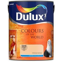 Farba Kolory świata Lateksowa Do ścian I Sufitów Kolor Imbirowa Herbata 5l Firmy Dulux