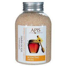 APIS Sól do kąpieli z miodem, propolisem i kozim mlekiem 650g