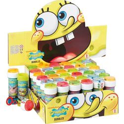 Bańki mydlane Sponge Bob 60 ml + zakładka do książki GRATIS