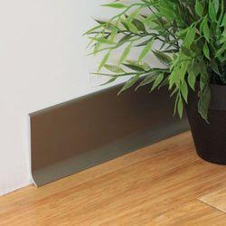 Listwa Cokołowa Aluminiowa ASPRO H:70mm Szampan Dł:2,5m