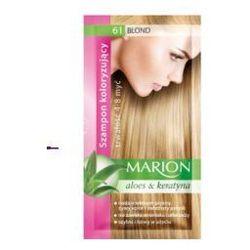 Marion Aloes & Keratyna 4-8 myć (W) szampon koloryzujący w saszetce 61 Blond 40ml