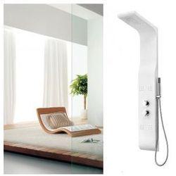 8923 Panel prysznicowy, biały