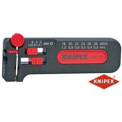KNIPEX Przyrząd do ściągania izolacji 0,30 - 1,0 mm, w wersji mini (12 80 100 SB)