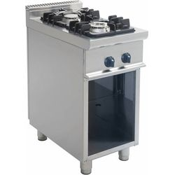 Kuchnia gazowa | 2 palniki | 400x700x850mm