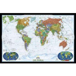 Świat Polityczny World Decorator mapa ścienna na podkładzie magnetycznym National Geographic