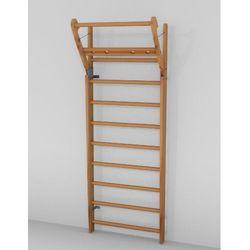 Drabinka gimnastyczna NOHrD (drewno bukowe) 10 szczebli