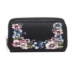 d1b6f23f01e94 portfele portmonetki czarny portfel damski - porównaj zanim kupisz