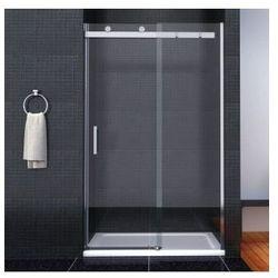 TESSA Drzwi przesuwne 150x190, szkło transparentne powłoka Easy Clean