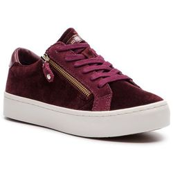 c2f1e4b62be07 Sneakersy TOMMY HILFIGER - Jupiter 2Z FW0FW02084 Decadent Chocolate 295
