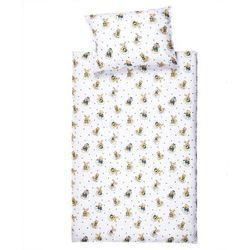 Jahu Pościel bawełniana do łóżeczka Zwierzaki, 90 x 130 cm, 40 x 60 cm