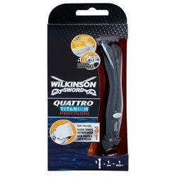 Wilkinson Sword Quattro Titanium Precision trymetr i maszynka do golenia na mokro + do każdego zamówienia upominek.