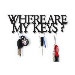 Wieszak na klucze WHERE ARE MY KEYS?