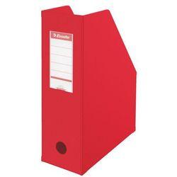 Pojemnik PCV ścięty składany Esselte A4/100mm, 5607 czerwony
