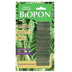 BIOPON pałeczki nawozowe rośl. ziel 30szt(BIO1125)
