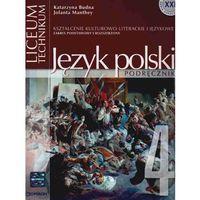 Język polski 4 Podręcznik Pozytywizm Młoda Polska (opr. miękka)