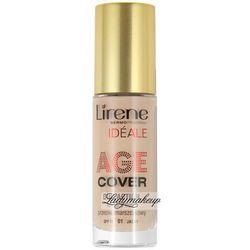 Lirene - AGE COVER DUO ACTION - Kryjący fluid przeciwzmarszczkowy - 03 - BEŻOWY