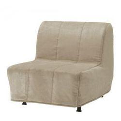 LYCKSELE LOVAS Fotel rozkładany, Henan beżowy