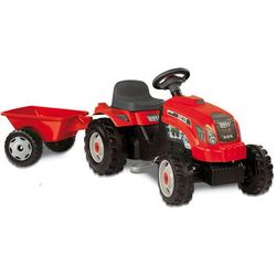 Traktor SMOBY z przyczepą czerwony + DARMOWY TRANSPORT!