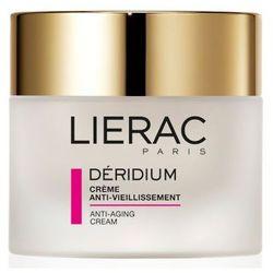 Lierac - Deridium Creme Anti-vieillissement - Krem przeciwzmarszczkowy - cera normalna i mieszana - 50 ml - DOSTAWA GRATIS! Kupując ten produkt otrzymujesz darmową dostawę !