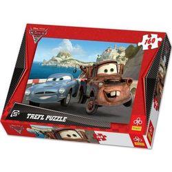 Auta 2. Złomek i Finn. Puzzle. 160 elementów