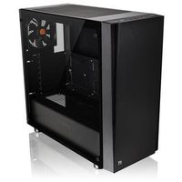 Thermaltake Versa J21 USB3.0 Tempered Glass - Black