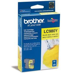 oryginalny atrament Brother [LC-980Y] yellow