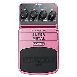 Behringer SUPER METAL SM400 efekt gitarowy