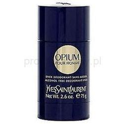 Yves Saint Laurent Opium pour Homme dezodorant w sztyfcie dla mężczyzn 75 ml + do każdego zamówienia upominek.