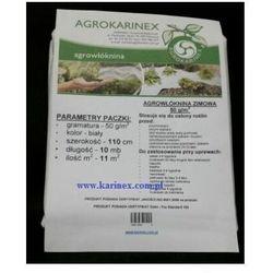 Agrowółknina zimowa PP 50 g/m2 biała 1,1 x 10 mb. Paczka o wadze 0,6 kg