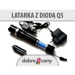 Latarka LED CREE Q5 + ZOOM