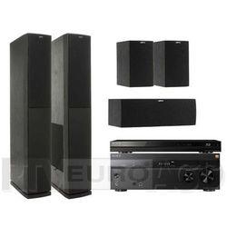 Sony BDP-S7200, STR-DN860, Jamo S 626 HCS (czarny) - produkt w magazynie - szybka wysyłka!