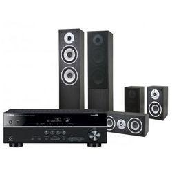 Kino domowe YAMAHA HTR-3068 + Pure Acoustics Nova Czarny