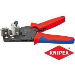 KNIPEX Precyzyjne szczypce do ściągania izolacji z nożami kształtowymi (12 12 12)