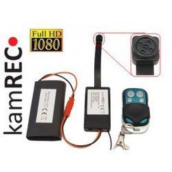 Mini kamera w guziku - śrubce fullHD z czujnikiem ruchu