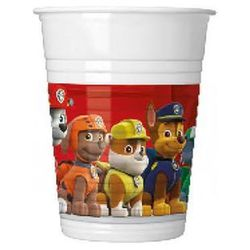 "Kubeczki plastikowe ""Paw Patrol - Ready For Action"", PROCOS, 200 ml, 8 szt"