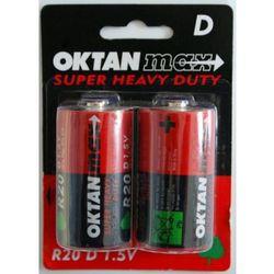 Bateria Oktan D R20 1,5V