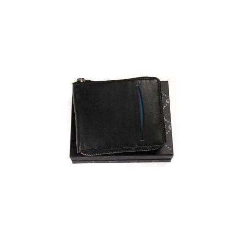 6911c0cdee1ac Zasuwany portfel męski skórzany Pierre Cardin TILAK 07 8818 niebieski