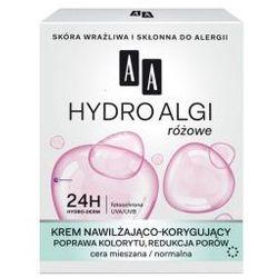 AA Hydro Algi Różowe (W) krem nawilżająco-korygujący cera mieszana/normalna na dzień 50ml