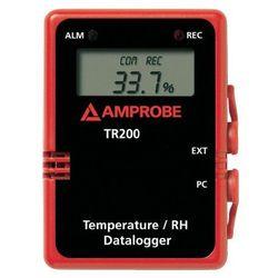 Rejestrator danych pomiarowych Beha Amprobe TR-200A 3477302, Mierzone wielkości: Temperatura, Wilgotność