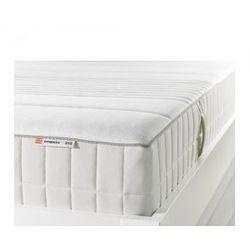 MYRBACKA Materac z pianki memory, twardy, biały 140cm